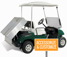 Get custom parts & service from Mid Florida Golf Cars