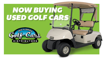 Image of used E-Z-GO Golf Cars from Mid Florida Golf cars
