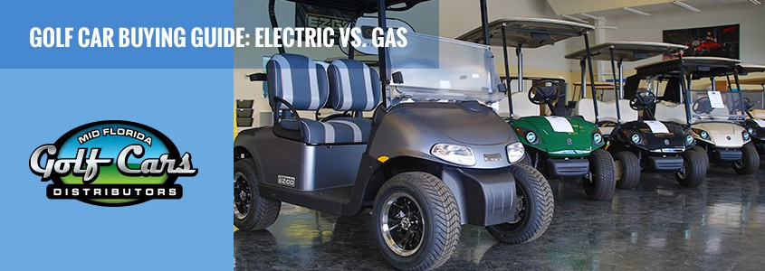 Electric Cars vs Gas powered Golf Cars